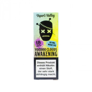 Voodoo Clouds E-Liquid 10ml Awakening 18mg Shot