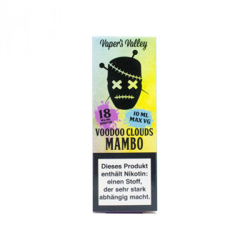 Voodoo Clouds E-Liquid 10ml Mambo 18mg Shot
