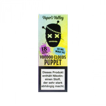 Voodoo Clouds E-Liquid 10ml Puppet 18mg Shot