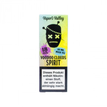 Voodoo Clouds E-Liquid 10ml Spirit 18mg Shot