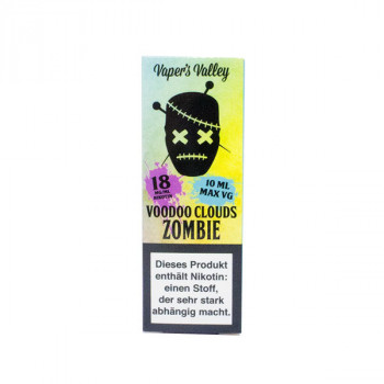 Voodoo Clouds E-Liquid 10ml Zombie 18mg Shot