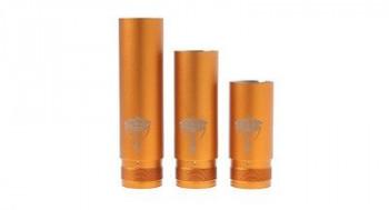 3er Set Bronze Gold Aluminum Tubes Set für Nemesis Mech. Mod Akkuträger