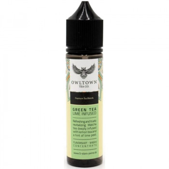 Green Tea Lime Infused Tea Edition 9ml Bottlefill Aroma by 5-Stars Peine