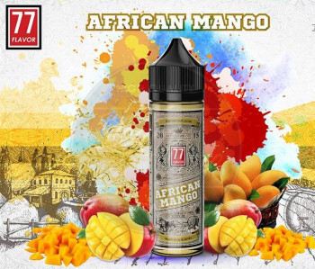 African Mango (50ml) Plus e Liquid by 77 Flavor