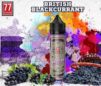 British Blackcurrant (50ml) Plus e Liquid by 77 Flavor