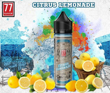 Citrus Lemonade (50ml) Plus e Liquid by 77 Flavor
