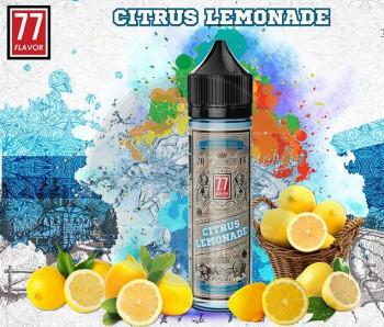 Citrus Lemonade (50ml) Plus e Liquid by 77 Flavor