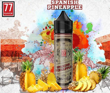 Spanish Pineapple (50ml) Plus e Liquid by 77 Flavor