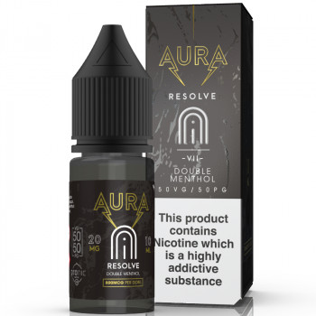 Resolve - Double Menthol 20mg 10ml NicSalt Liquid by Aura