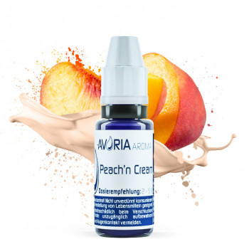 AVORIA E Liquid Aroma 12ml / Peach'n Cream