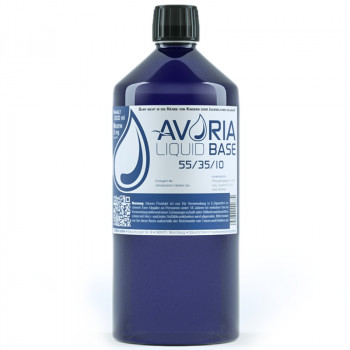Avoria Liquid Base 1000ml 55%/35%/10% PG/VG/Wasser Basisliquid