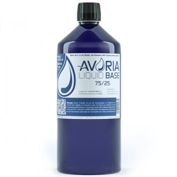 Avoria Liquid Base 1000ml 75/25 PG/VG Basisliquid