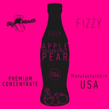 Big Mouth Fizzy Aroma Apple Dragonfruit Pear 10ml