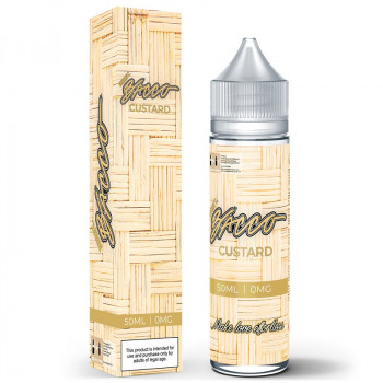 Custard (50ml) Plus e Liquid by Bacco Burst