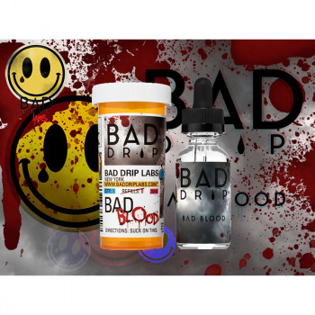 Bad Blood (50ml) Plus e Liquid by Bad Drip Labs