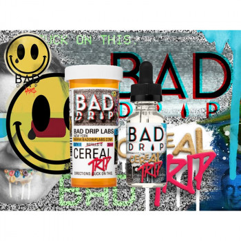 Cereal Trip (50ml) Plus e Liquid by Bad Drip Labs