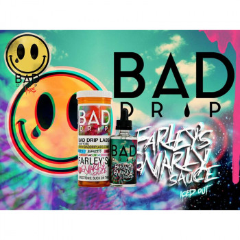 Farleys Gnarly Sauce (50ml) Plus e Liquid by Bad Drip Labs