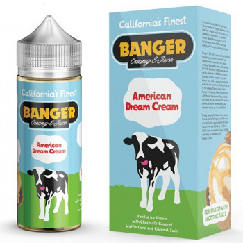 American Dream (100ml) Plus e Liquid by Banger