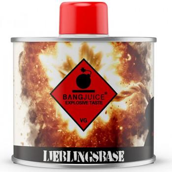 BangJuice 250ml Lieblingsbase Nikotinfrei Basisliquid