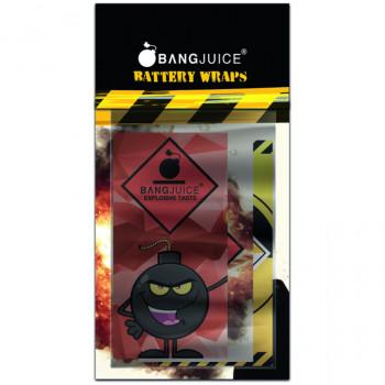 BangJuice Battery Akku Wraps Pack (6 Stück) für 18650er Akkus