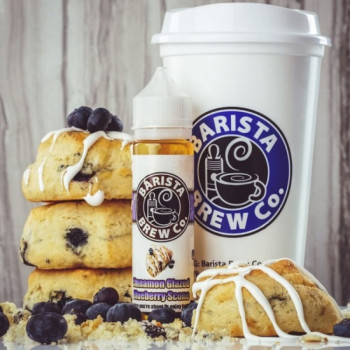 Cinnamon Glazed Blueberry Scone PLUS by Barista Brew Co.  e Liquid