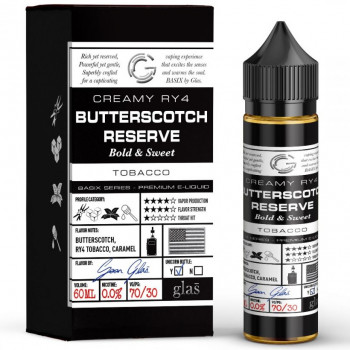 Butterscotch Reserve (50ml) Plus e Liquid by Glas™