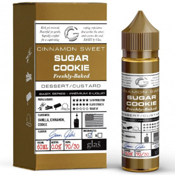 Sugar Cookie (50ml) Plus e Liquid by Glas™