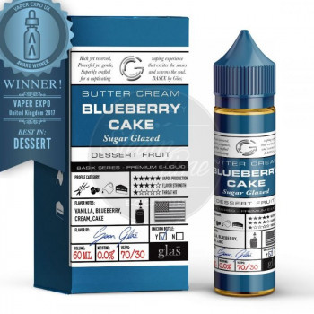 Blueberry Cake (50ml) Plus e Liquid by Glas™