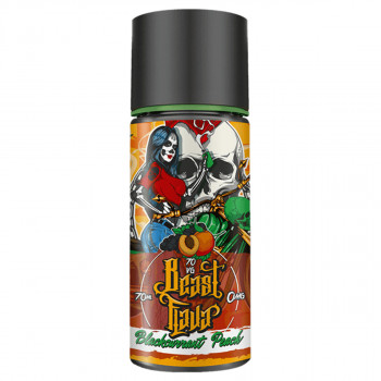 Blackcurrant Peach (70ml) Plus e Liquid by Beast Flava