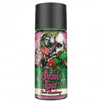 Sour Strawberry (70ml) Plus e Liquid by Beast Flava