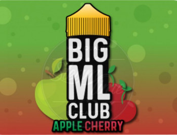 Apple Cherry (100ml) Plus e Liquid by BIG ML Club Dinner Lady