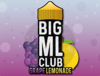 Grape Lemonade (100ml) Plus e Liquid by BIG ML Club Dinner Lady