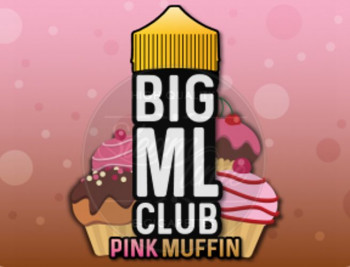 Pink Muffin (100ml) Plus e Liquid by BIG ML Club Dinner Lady