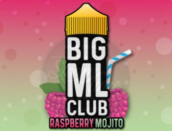 Raspberry Mojito (100ml) Plus e Liquid by BIG ML Club Dinner Lady