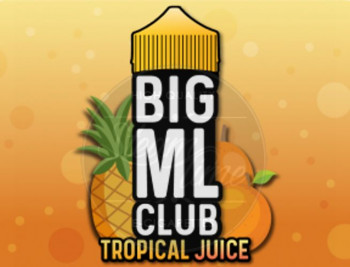 Tropical Juice (100ml) Plus e Liquid by BIG ML Club Dinner Lady