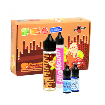 Donuts Cone Ice Cream (50ml) Plus e Liquid by Big Mouth