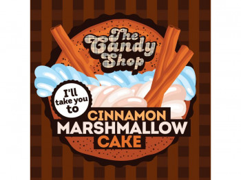 Big Mouth Aroma The Candy Shop - I'll take you to Cinnamon Marshmallow Cake 10ml