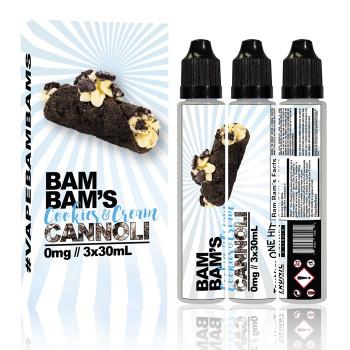 Cookies & Cream Cannoli by Bam Bam's Cannoli