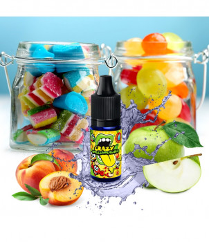 Big Mouth Aroma Classical - Crazy Apple and Peaches 10ml
