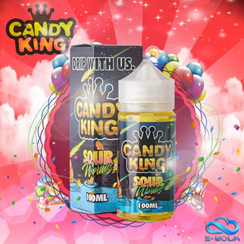 Sour Worms (100ml) Plus e Liquid by Candy King
