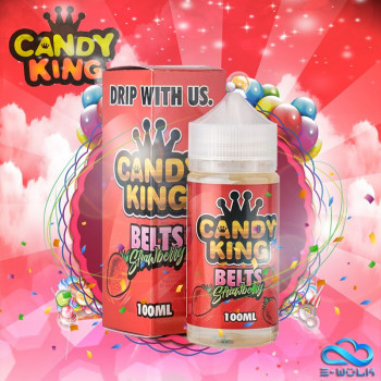 Belt Strawberry (100ml) Plus e Liquid by Candy King