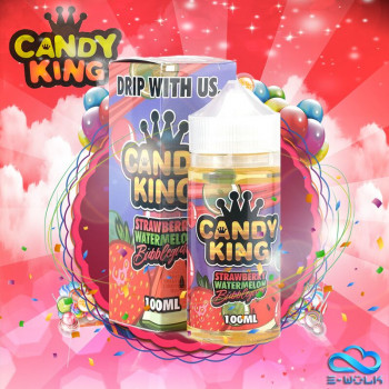 Strawberry Watermelon Bubblegum (100ml) Plus e Liquid by Candy King