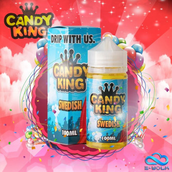 Swedish (100ml) Plus e Liquid by Candy King