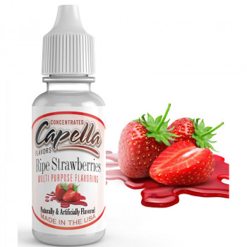 Ripe Strawberries 13ml Aromen by Capella Flavors