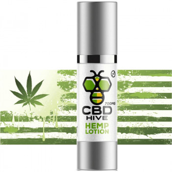 Premium CBD Hemp Lotion 700MG by CBD Hive