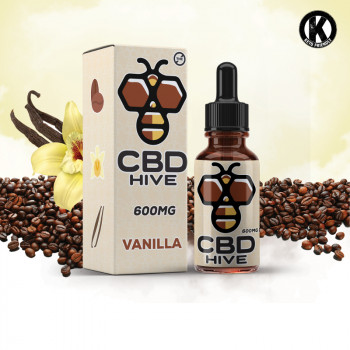 Vanille 600mg CBD HIVE Coffee Drops