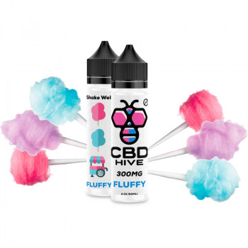 Fluffy 300mg e Liquid by CBD HIVE Vape Nikotinfrei
