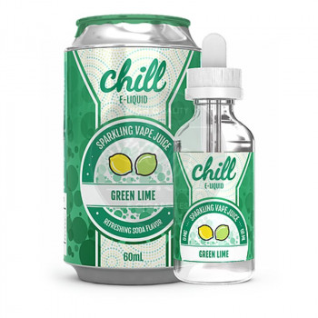 Green Lime (50ml) Plus by Chill e Liquid