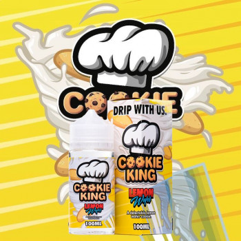 Lemon Wafer (100ml) Plus e Liquid by Cookie King