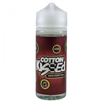 Sour Cherry Cola 100ml Shortfill Liquid by Cotton Kissed